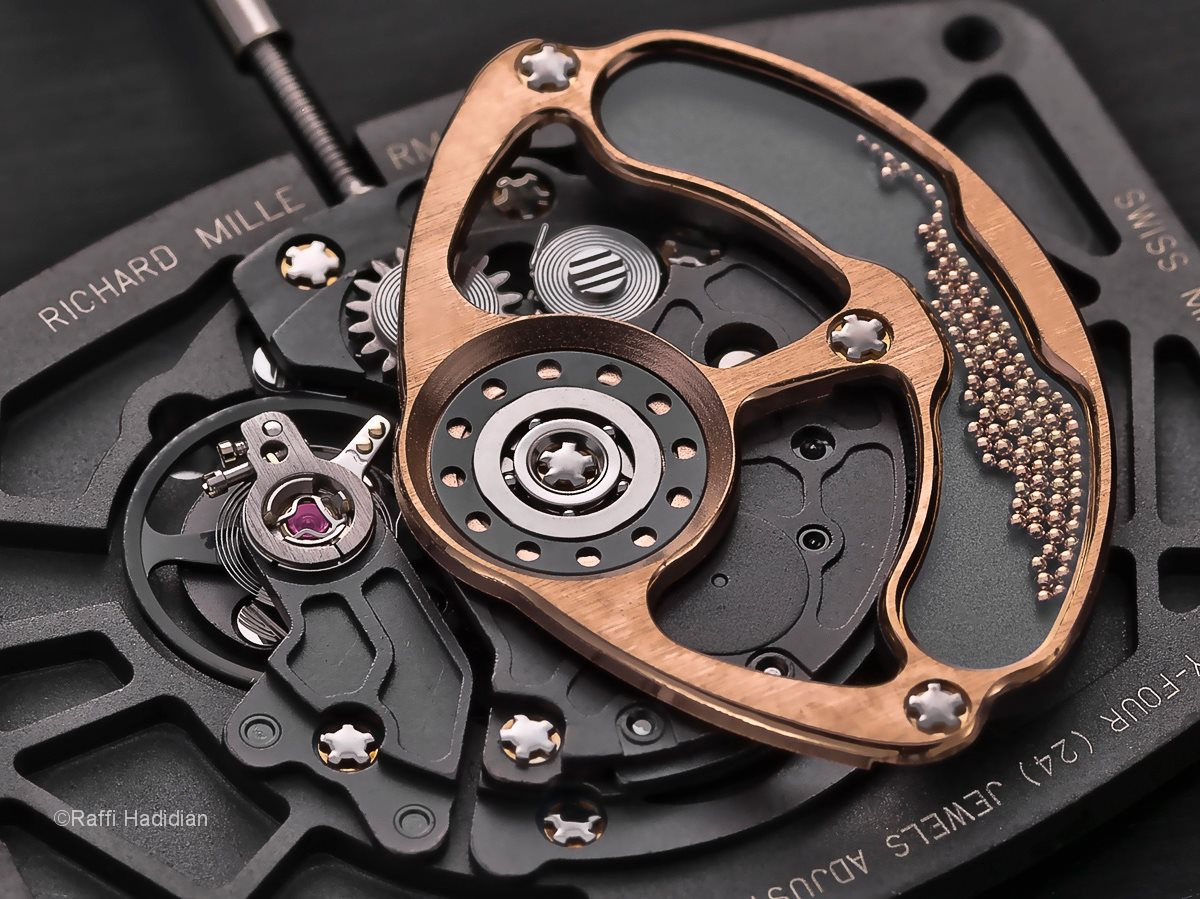 Richard Mille Macro Watch Shot